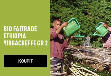 nová káva Ethiopia Yirgacheffe